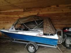 Продам лодку Казанка- 5М С Прицепом