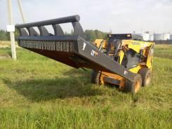 Косилка травы и бурьяна на мини-погрузчик