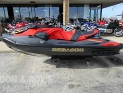 BRP Sea-Doo RXT-X 300 IBR & Sound System Eclipse Black and Lava Red