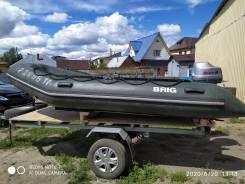 Продам лодку BRIG-B380 с прицепом!
