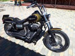 Harley-Davidson Dyna Street Bob, 2008