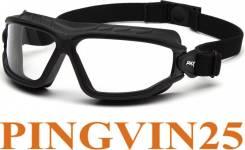 Очки-маска Torser (Anti-Fog) Прозрачные 96% светопропуск в Pingvin25