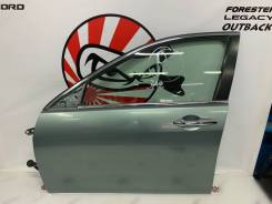Дверь передняя левая (G513M - зеленый) Honda Accord CL9 #10