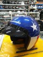 Шлем мото открытый Marushin