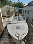 Лодка казанка без булей
