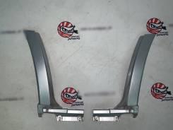 Накаладки на задние крылья (серебро 01G) Subaru Forester SG5 #1