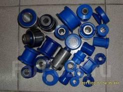 Комплект полиуретановых сайлентблоков Фортуна (Синий полиуретан)