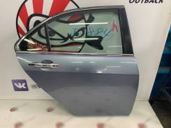 Дверь задняя правая (голубой B538M) Honda Accord CL7 #11