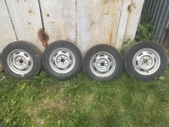 Продам комплект колёс! Резина Cordiant Polar2