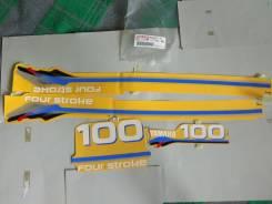 Наклейки на yamaha f100 оригинал