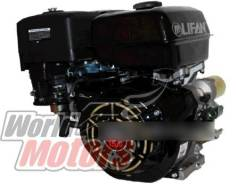 Двигатель Lifan 15 л. с. с катушкой 7А 190F-D ЭЛ. Стартер вал 25 мм.