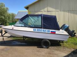 Продам моторную лодку Сибирь 460. Мотор Mikatsu 50 (двухтактный)