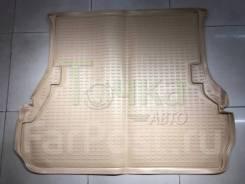 Модельный коврик в багажник для Toyota Land Cruiser 100 бежевый