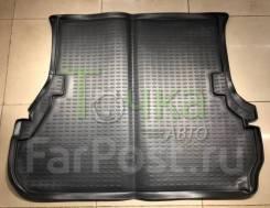 Модельный коврик в багажник для Toyota Land Cruiser 100 серый