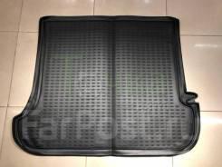 Модельный коврик в багажник для Toyota Land Cruiser Prado 120 черный