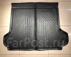 Модельный коврик в багажник для Toyota LC Prado 150 2013-2017 черный