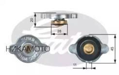 Крышка системы охлаждения Hyundai/KIA/Mitsubishi 90- Gates RC124