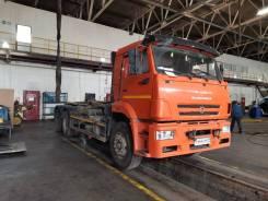 Мультилифт Palfinger 20 тонн на шасси Камаз 6520-50 (2018г., 70000км. )