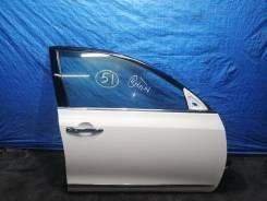 Дверь передняя правая QX1 (белый перламутр) Nissan Teana J32