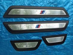 Накладки на порог салона М-пакет BMW X3 F25 20dX N47 13г