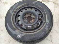 Колесо - шина Bridgestone 205/70R15 Износ- 80% + диск 4х114.3-15 1шт.