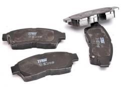 Колодки тормозные дисковые передние TRW GDB1143 Toyota
