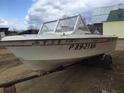 Продам лодку(пластик) с мотором ямаха 60