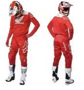 Костюм кроссовый FOX Honda красный M/32