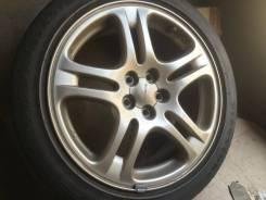 Продам комплект отличных литых дисков из Японии R17 5/100 Subaru