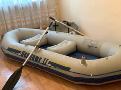 Продам лодку пвх с подвесами для транца