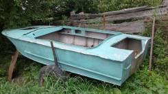 """Продам. катер-лодку""""прогресс2""""документами 2мотора30л. с. веслами. телегой."""