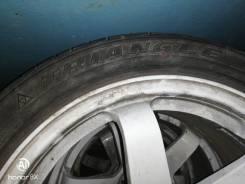 Продам диски с резиной в отличном состоянии volk racing te37