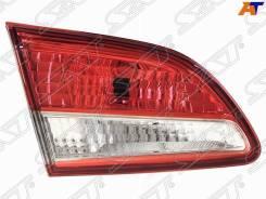 Фонарь левый в крышку багажника Nissan Almera G15 12-