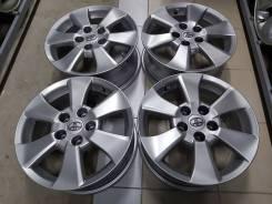 """Оригинальные литые диски Toyota 16"""" (5*114.3) 6.5j et+33 цо60.1мм"""