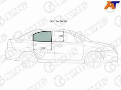 Стекло боковое опускное Chevrolet AVEO, Chevrolet AVEO (T250) 06-11 4D, Daewoo Gentra, Daewoo Gentra 06-11 4D, Ravon Nexia R3 16-, ZAZ VIDA 12- 4D XYG Gentra RD/RH