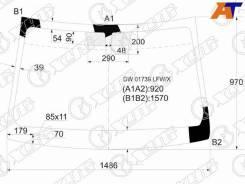 Стекло лобовое Cadillac CTS, Cadillac CTS 07-13 4D, Cadillac CTS 07-13 5D WGN, переднее