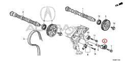Оригинальный натяжитель приводного ремня Acura RDX 31170R8AA01
