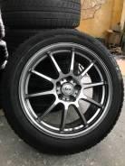 LCZ R18 5*114.3 8j et45 облегчённые + 225/45R18 Dunlop Le Mans V 2018