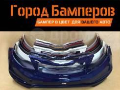 Новый передний бампер в цвет Kia Rio 15-17 865114Y500 Россия