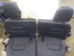 Третий ряд сидений (черные) Toyota LAND Cruiser 200