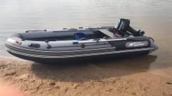 Лодка 370 с мотором 9,9(15)