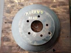 Тормозной диск задний Nissan Murano PNZ50