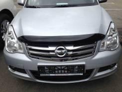 Дефлектор капота (мухобойка) Nissan Almera 2012- SIM