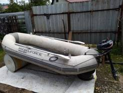 Продам лодку ПВХ 2.8м+подвесной мотор 3.5л. с