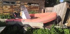 Продам лодку РИБ 450 с мотором дахатсу40