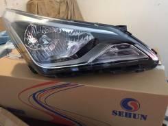 Фара правая Хёндай Солярис Hyundai Solaris 2014-