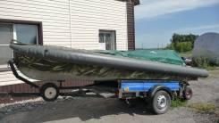 Моторная лодка Казанка-М с мотором