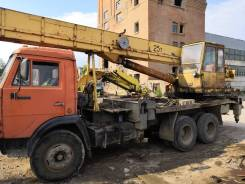 Услуги автокран камаз-ивановец тонн 25 длинномер 12м