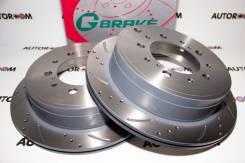 Диски тормозные перфорированные G-brake GFR-21148 (Задние)