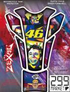 Наклейка на бак мотоцикла 46 Rossi, шт